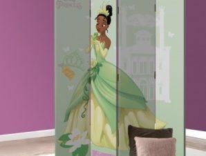 Tiana, Busy Princess Παιδικά Παραβάν 80×180 cm [Δίφυλλο]