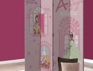Always a busy little Princess Παιδικά Παραβάν 80×180 cm [Δίφυλλο]