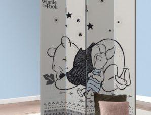 Sleepy Winnie! Παιδικά Παραβάν 80×180 cm [Δίφυλλο]