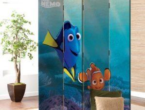 Dory and Nemo , Finding Dory Παιδικά Παραβάν 80×180 cm [Δίφυλλο]