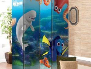 Ocean Friends, Finding Dory Παιδικά Παραβάν 80×180 cm [Δίφυλλο]