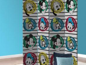 Donald Duck, Pluto, Goofy, Mickey Mouse Παιδικά Παραβάν 80×180 cm [Δίφυλλο]