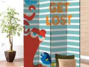 Get Lost, Finding Dory Παιδικά Παραβάν 80×180 cm [Δίφυλλο]