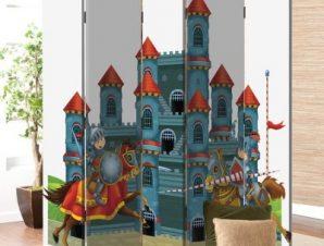 Κάστρο Παιδικά Παραβάν 80×180 cm [Δίφυλλο]