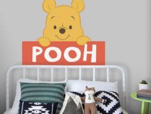 POOH,Winnie the Pooh Παιδικά Αυτοκόλλητα τοίχου 60 x 49 εκ.