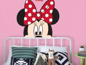 Beautiful Minnie Παιδικά Αυτοκόλλητα τοίχου 32 x 35 cm