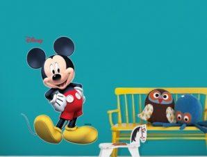 Mickey Mouse ….3d Παιδικά Αυτοκόλλητα τοίχου 42 x 30 cm