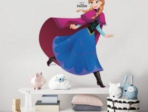 Anna, Frozen Παιδικά Αυτοκόλλητα τοίχου 50 x 64 εκ.