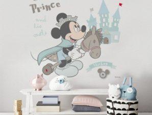 Μικρός πρίγκιπας, Μίκυ Μάους Παιδικά Αυτοκόλλητα τοίχου 46 x 50 cm