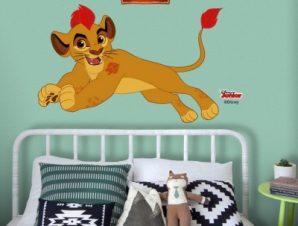 Ο Κίων τρέχει, Lion Guards Παιδικά Αυτοκόλλητα τοίχου 55 x 35 εκ.