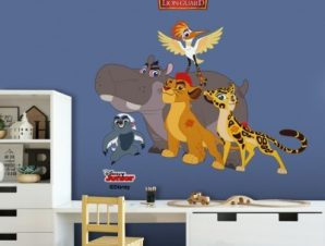 The Lion Guard!!! Παιδικά Αυτοκόλλητα τοίχου 50 x 35 εκ.