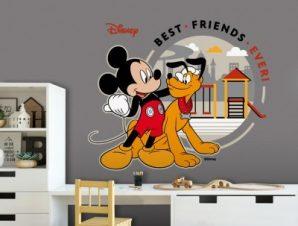 Οι καλύτεροι φίλοι, Mickey Mouse Παιδικά Αυτοκόλλητα τοίχου 50 x 41 εκ.