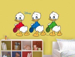Happy Ducks Παιδικά Αυτοκόλλητα τοίχου 35 x 67 cm