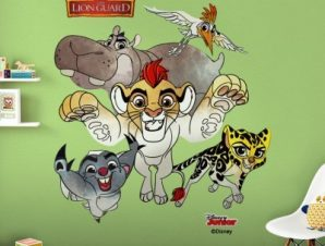 The Lion Guard, Kion and His Friends Παιδικά Αυτοκόλλητα τοίχου 49 x 49 εκ.
