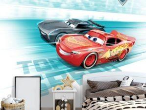 Top speed, Cars Παιδικά Ταπετσαρίες Τοίχου 100 x 100 εκ.