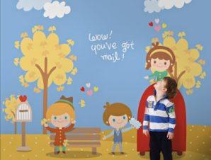 Καλωσόρισες φθινόπωρο! Παιδικά Ταπετσαρίες Τοίχου 117 x 90 cm
