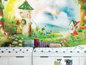 Παραμύθι Παιδικά Ταπετσαρίες Τοίχου 81 x 120 cm