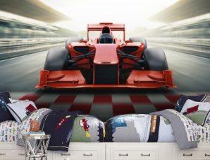 Formula1 Παιδικά Ταπετσαρίες Τοίχου 100 x 100 cm