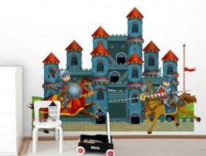Κάστρο Ιπποτών Παιδικά Ταπετσαρίες Τοίχου 88 x 114 cm