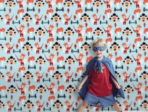Ιππότης πρίγκιπας Παιδικά Ταπετσαρίες Τοίχου 100 x 100 cm