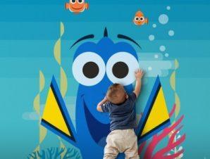 Dory! Παιδικά Ταπετσαρίες Τοίχου 100 x 100 cm