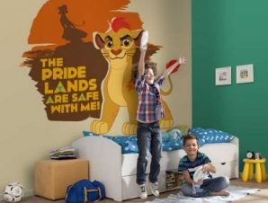 The pride lands are safe with Kion, The Lion Guard Παιδικά Ταπετσαρίες Τοίχου 100 x 100 cm