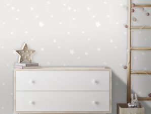 Αστέρια, Mickey Mouse! Παιδικά Ταπετσαρίες Τοίχου 100 x 100 cm