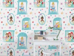 Beautiful Princesses Παιδικά Ταπετσαρίες Τοίχου 100 x 100 cm
