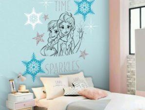 Spring time Sparkles, Frozen !! Παιδικά Ταπετσαρίες Τοίχου 100 x 100 cm