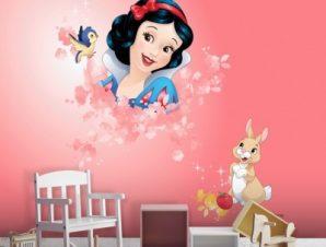 Η Χιονάτη, Πριγκίπισσες! Παιδικά Ταπετσαρίες Τοίχου 100 x 100 cm