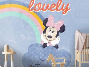 Είσαι υπέροχη Μίνι Μάους! Παιδικά Ταπετσαρίες Τοίχου 100 x 100 cm