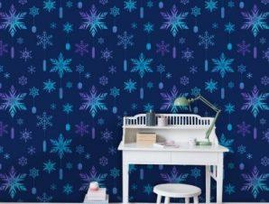 Snow, Frozen Παιδικά Ταπετσαρίες Τοίχου 100 x 100 cm