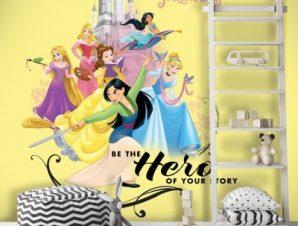 Hero, Princess Παιδικά Ταπετσαρίες Τοίχου 100 x 100 cm
