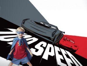 Top speed, Cars! Παιδικά Ταπετσαρίες Τοίχου 100 x 100 cm