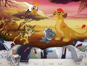 Η χαρούμενη παρέα, The Lion Guard Παιδικά Ταπετσαρίες Τοίχου 100 x 100 cm