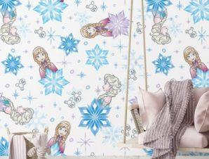 Elsa & Anna Παιδικά Ταπετσαρίες Τοίχου 100 x 100 cm